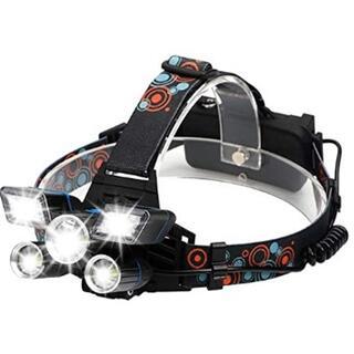 ★即日発送★ 充電式 ヘッドライト 12000LM 防水 登山 釣り アウトドア(ライト/ランタン)