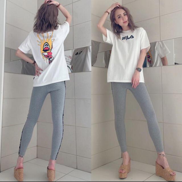 GYDA(ジェイダ)のGYDA♡新作新品♡サイドラインPT GRY レディースのパンツ(カジュアルパンツ)の商品写真