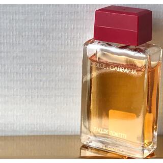 ドルチェアンドガッバーナ(DOLCE&GABBANA)のDOLCE&GABBANA ドルチェ&ガッバーナ ドルガバ ミニボトル 香水瓶(ユニセックス)