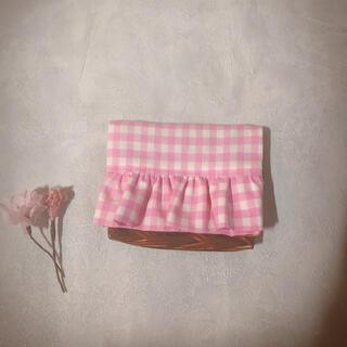 ボンポワン(Bonpoint)の【handmade】移動ポケット ポシェット フリル(外出用品)