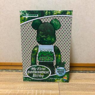 MEDICOM TOY - MY FIRST BE@RBRICK B@BY GREEN 400%ベアブリック