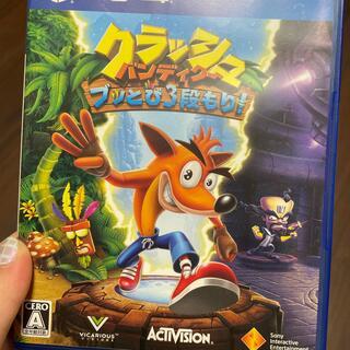 クラッシュ・バンディクー ブッとび3段もり! PS4