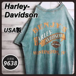 Harley Davidson - 【入手困難!!】ハーレーダビッドソン ✈︎USA製 バックプリント ゆるだぼ