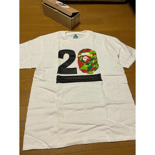 A BATHING APE - 激レア 新品未使用 BAPE 20周年記念限定Tシャツ サイケカモ XL