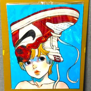 ナイキ(NIKE)の古塔つみ 個展ポスター(ポスター)