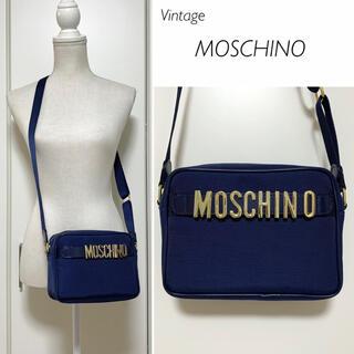 MOSCHINO - 【Vintage】超美品★MOSCHINO ナイロン×レザー ショルダーバッグ