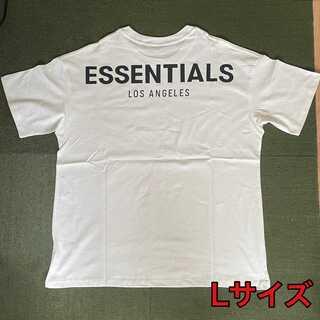 新品 Fear of god ESSENTIALS 半袖Tシャツ L FOG