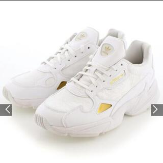 adidas - アディダス ファルコン ホワイト