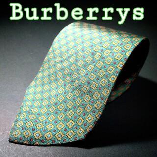 バーバリー(BURBERRY)の【美品】BURBERRYS OF LONDON スクエア・ドット ネクタイ(ネクタイ)