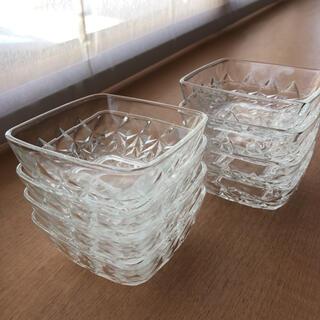 小鉢 カットガラス 8個セット