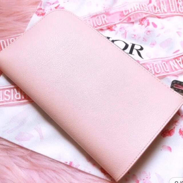 Dior(ディオール)のディオール ノベルティ ポーチ サクラピンク レディースのファッション小物(ポーチ)の商品写真