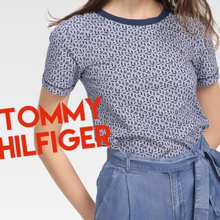 TOMMY HILFIGER - TOMMY HILFIGER   【トミーヒルフィガー】プリントTシャツ 新品
