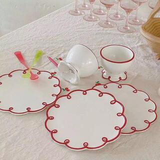 韓国雑貨 インテリア かわいい 皿 プレート カフェ 北欧 キッチン 海外