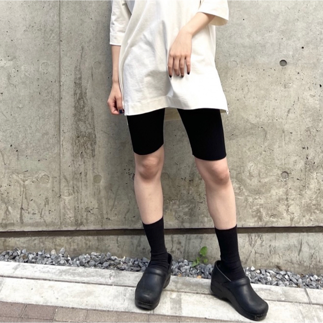 UNIQLO(ユニクロ)の【新品未使用】mame kurogouchi UNIQLO3Dリブショートパンツ レディースのパンツ(カジュアルパンツ)の商品写真