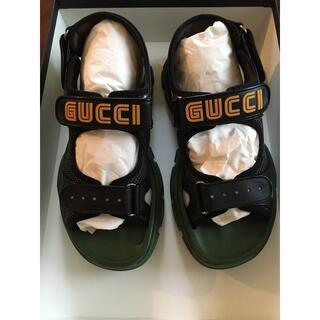 グッチ(Gucci)のGUCCI leather sandal メンズ(サンダル)