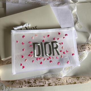 Dior - ディオール ノベルティ クラーデション刺繍ポーチ 箱付き正規品
