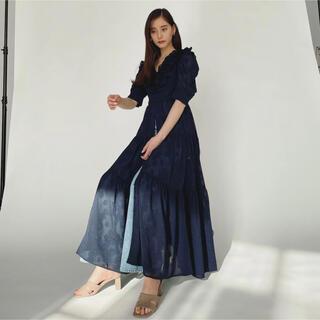 snidel - コラボレーションドレス SNIDEL 新木優子 sweet ロング ワンピース