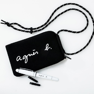 agnes b. - 新品★アニエスベーショルダーバッグ マルチケース