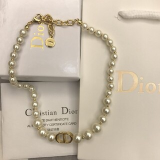 Christian Dior - Diorパール可愛いネックレス