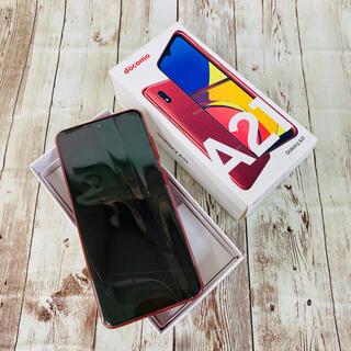 サムスン(SAMSUNG)のbe Haapy様専用Galaxy A21 Simフリー赤 4台セット(スマートフォン本体)