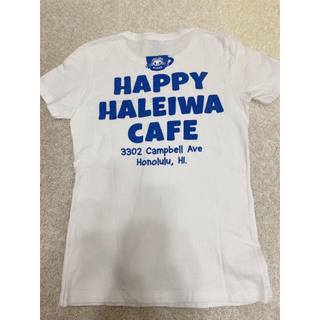 ハレイワ(HALEIWA)のハワイ ハッピーハレイワ カフェ限定 レア Tシャツ M(Tシャツ(半袖/袖なし))