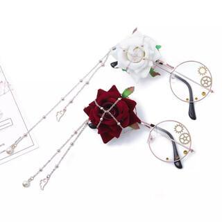 個性的メガネ薔薇バラ花コスプレ眼鏡ギアヴィンテージサングラス ゴシックレトロ