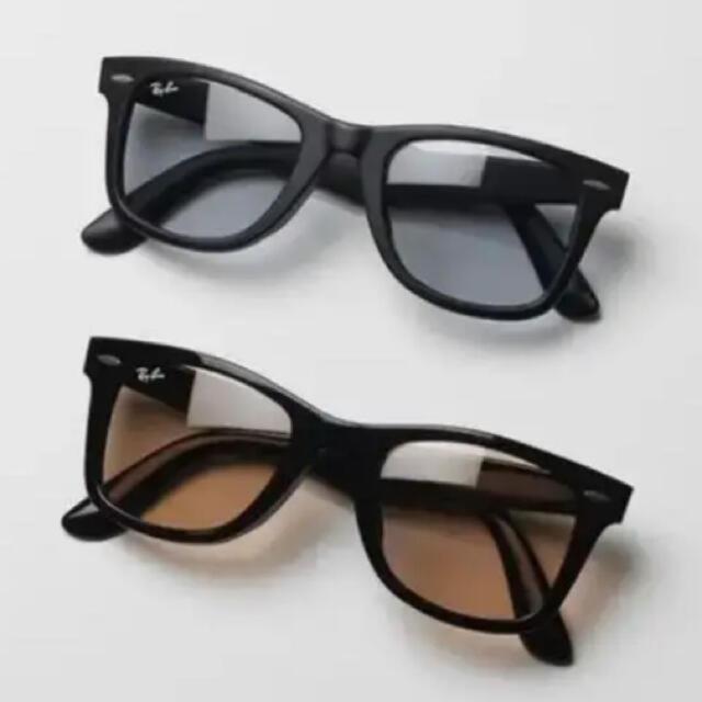 Ray-Ban(レイバン)の新品!!未使用品 Ray-Ban×木村拓哉 コラボ ウェイファーラー 2点セット メンズのファッション小物(サングラス/メガネ)の商品写真