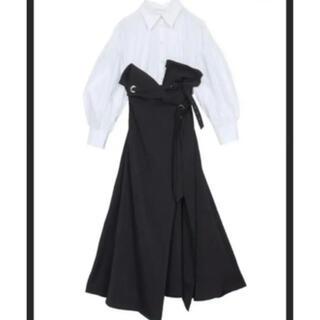 Ameri VINTAGE - Ameri vintageミルフィーユシャツドレス ワンピースS