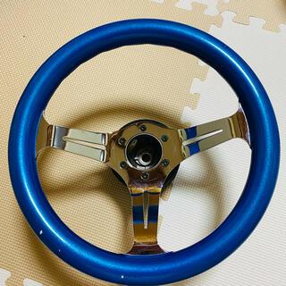 ハンドル ステアリング 車 青色