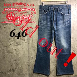 Levi's - 【美品】levi's646 リーバイス ベルボトム 684 517 70s 希少