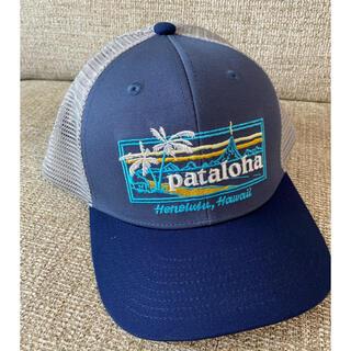 パタゴニア(patagonia)の新品 ハワイ限定 パタゴニア パタロハ キッズ メッシュ キャップ 帽子 子供(帽子)