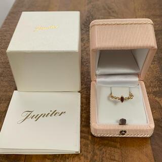 jupiter GOLD LABEL - jupiter k10 gold leaf リング ジュピター 9号