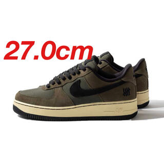 NIKE - UNDEFEATED × NIKE AIR FORCE1  27cm