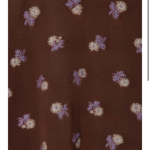 mame(マメ)のTunic With Small Flower Embroidery レディースのトップス(シャツ/ブラウス(半袖/袖なし))の商品写真