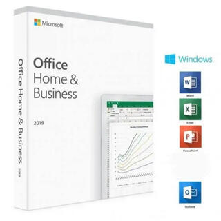 Microsoft - Office 2019 Home and Business 認証サポートあり!