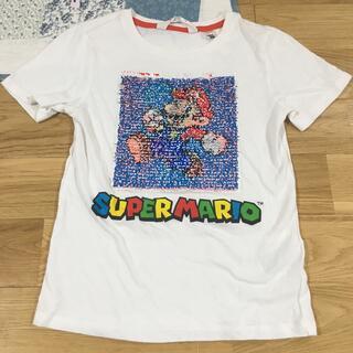 エイチアンドエム マリオ スーパーマリオ Tシャツ