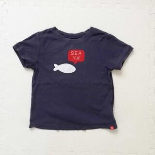 ベビーギャップ(babyGAP)の100cm babyGAP ネイビーTシャツ(Tシャツ/カットソー)