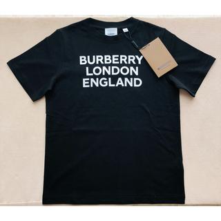 BURBERRY - 【新品未使用】バーバリー ロゴ Tシャツ ブラック 12Y