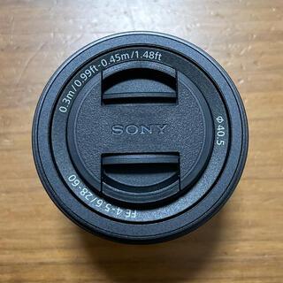 SONY - 未使用品 sony sel2860 fe2860 f4-5.6  α7c