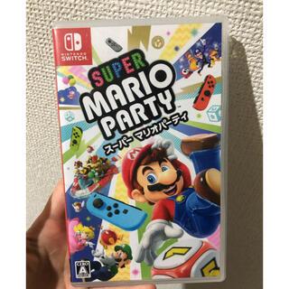 Nintendo Switch - スーパー マリオパーティ Switch ソフト 傷なし