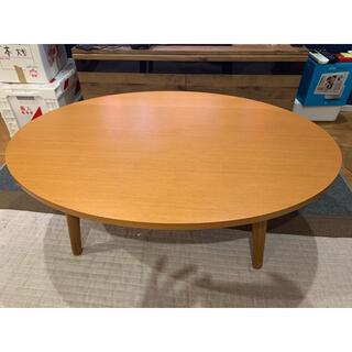 ウニコ(unico)の【直渡し可】unico アルベロ ALBERO ローテーブル 横幅110cm(ローテーブル)