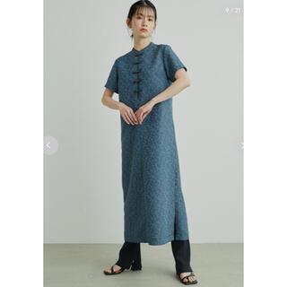 Lily Brown - 【新品未使用タグ付き完売色】大人気!チャイナディティールワンピース