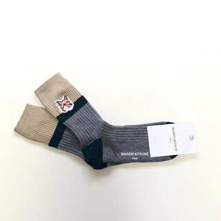 メゾンキツネ(MAISON KITSUNE')の新品 メゾンキツネ MAISON KITSUNE 靴下(ソックス)