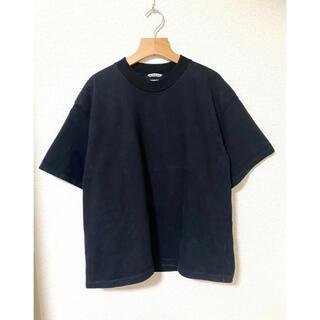 AURALEE 20SS スタンドアップTシャツ オーラリー ブラック
