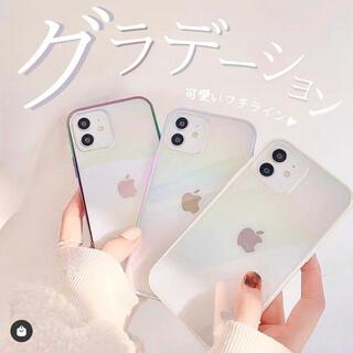 iPhone - MOA  グラデーション iPhone11 ケース 韓国風