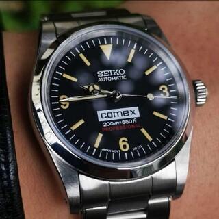 SEIKO - SEIKO セイコー mod カスタム 腕時計 ビンテージ エクスプローラー