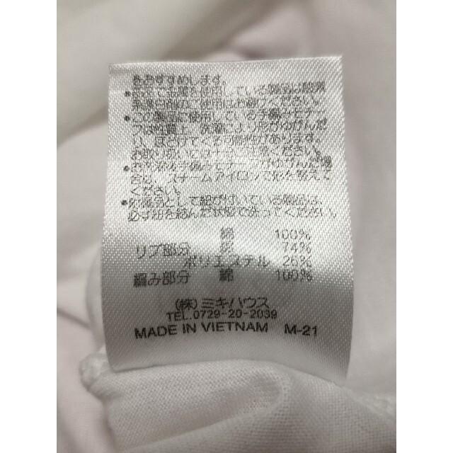 mikihouse(ミキハウス)のミキハウス お花刺繍 トップス 100㎝ キッズ/ベビー/マタニティのキッズ服女の子用(90cm~)(Tシャツ/カットソー)の商品写真