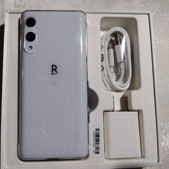Rakuten(ラクテン)のRakuten Hand ホワイト スマホ/家電/カメラのスマートフォン/携帯電話(スマートフォン本体)の商品写真