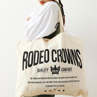 RODEO CROWNS WIDE BOWL - ECO BAG(L)