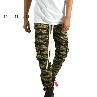 FEAR OF GOD - mnml Snap Cargo Pants Tiger Stripe Camo